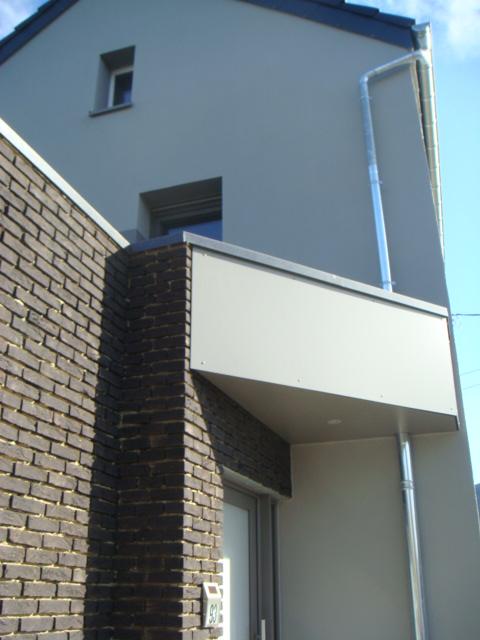 Agrandissement et relooking d'une habitation existante + création d'un salon de coiffure à Montzen