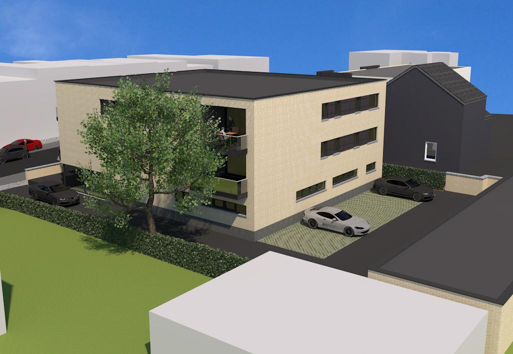 Immeuble de 6 appartements avec commerce et cabinet dentaire à Lontzen