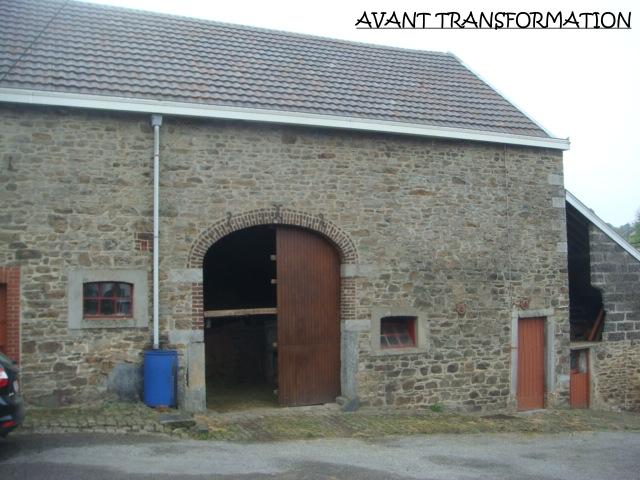 Transformation d'une grange en habitation à Jalhay