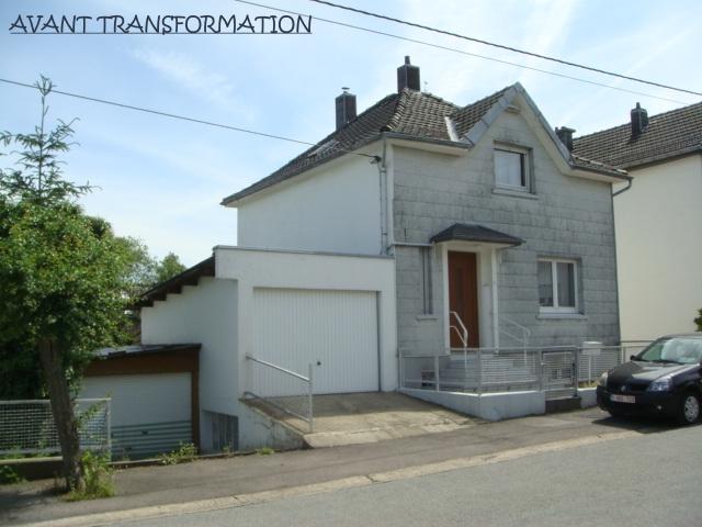 Agrandissement contemporain d'une habitation à Lontzen