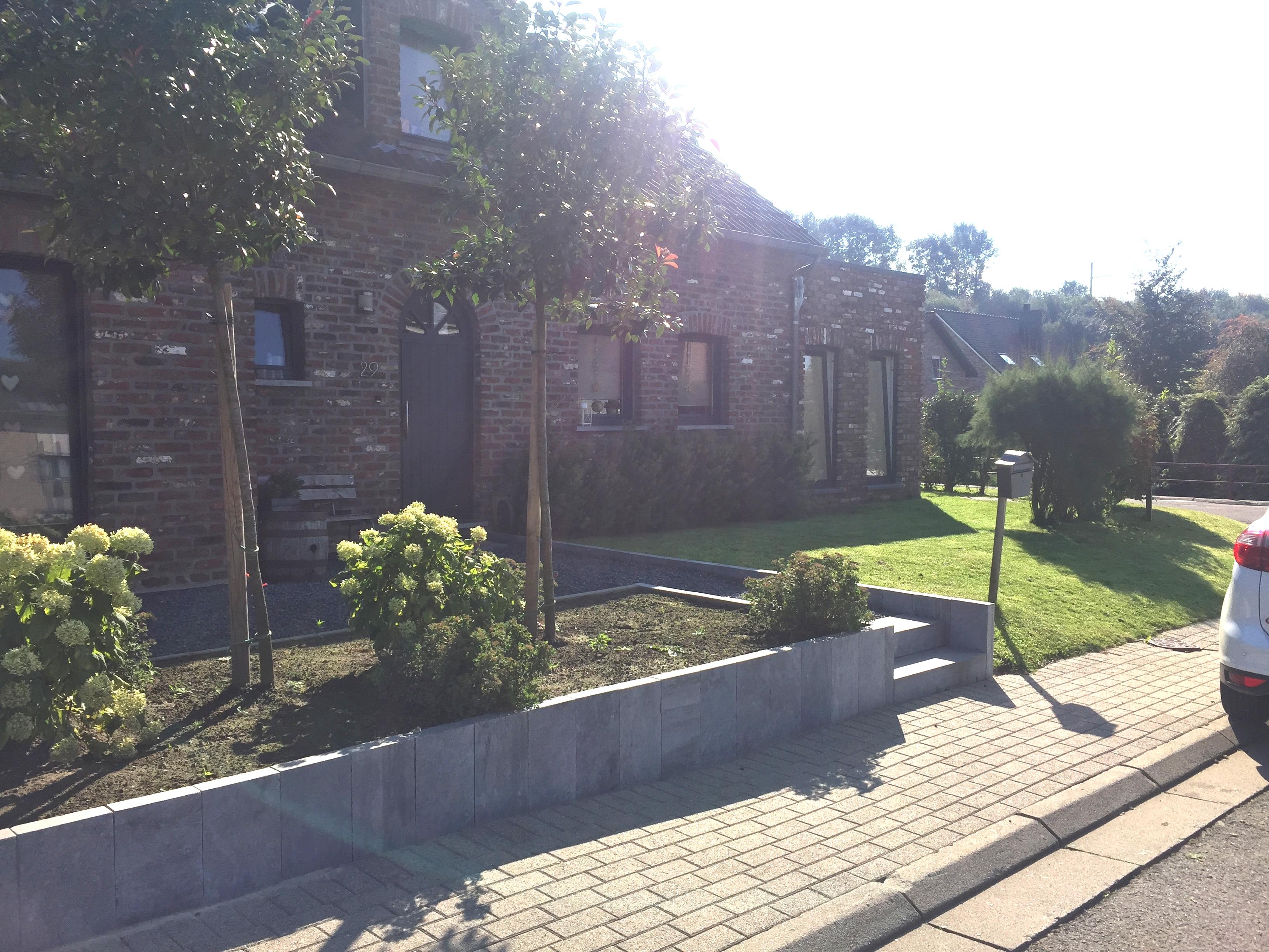 Agrandissement d'une habitation à Montzen
