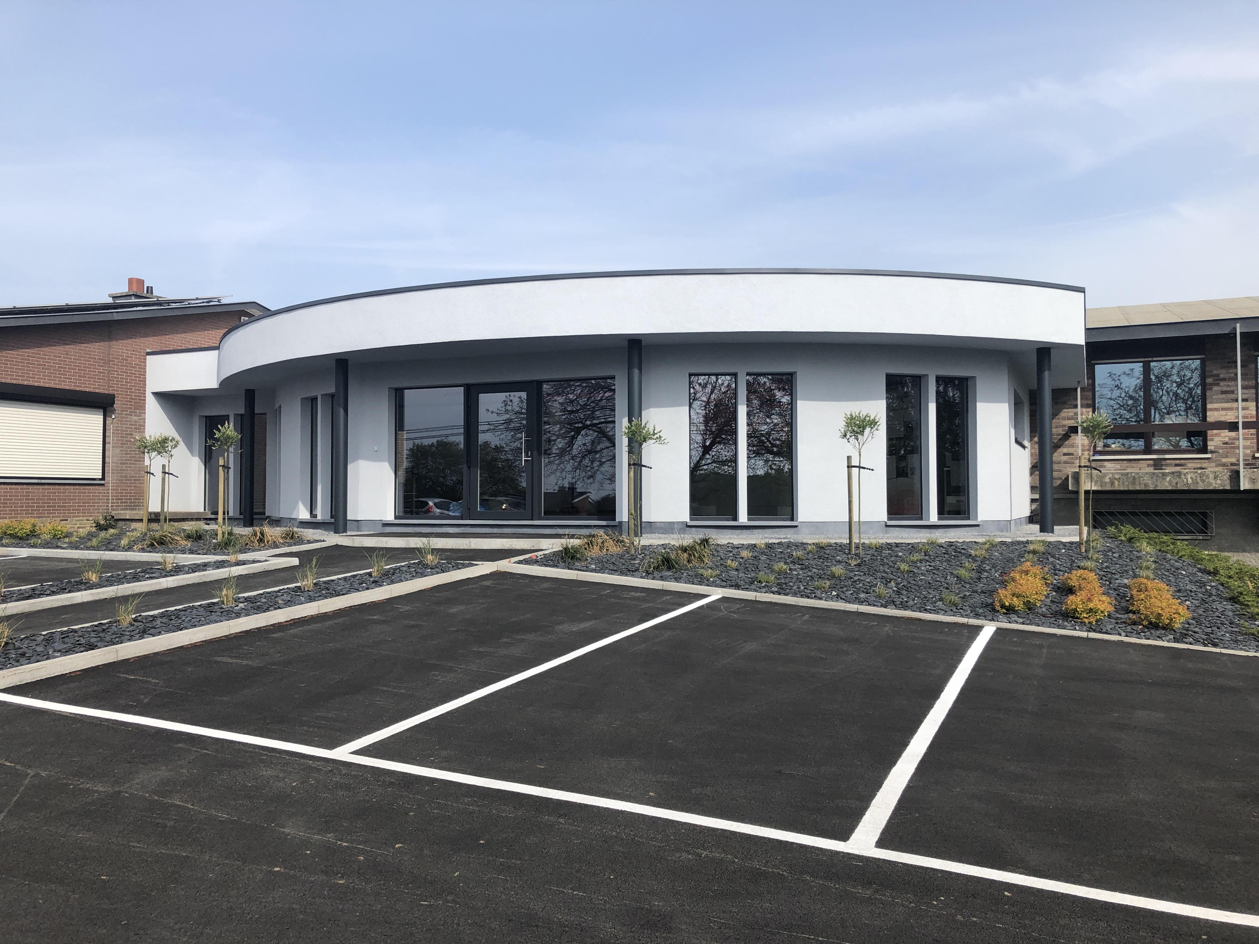 Création d'un nouvel espace d'accueil pour le Comité du Lait à Battice