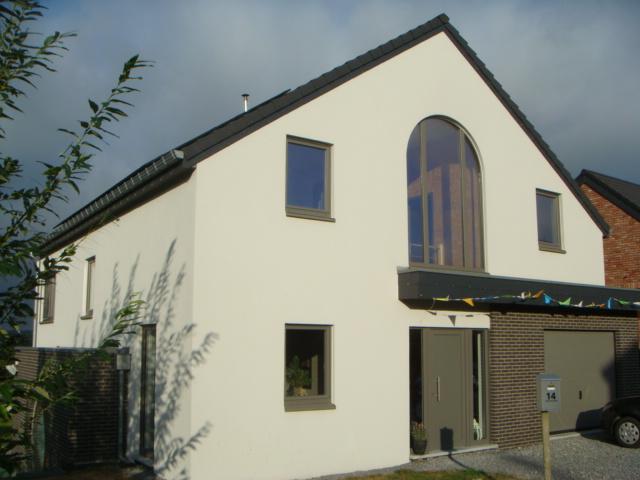 Maison en ossature bois à Hombourg