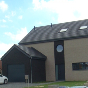 Maison en ossature bois à Welkenraedt
